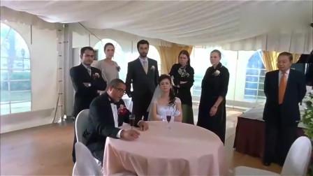 结婚不过一个小时新娘就要离婚,美女开口就要一半家产,厚颜无耻