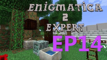 我的世界:点滴蓄水器  我的世界Enigmatica2探险P14【某咪sa】