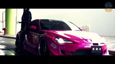車襯你 螢光粉紅 的豐田86