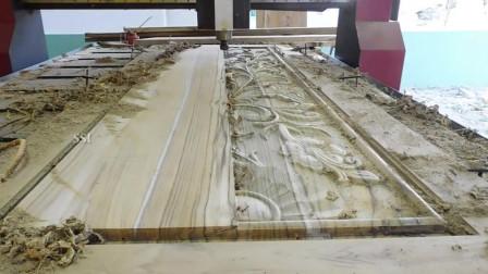 现代化木工雕刻,这样的速度,传统木工谁还会做呢