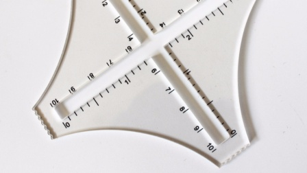 【唐】编织课堂-密度尺的使用和计算