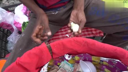 印度最受欢迎的蛋黄酱,对我来说是黑暗料理!