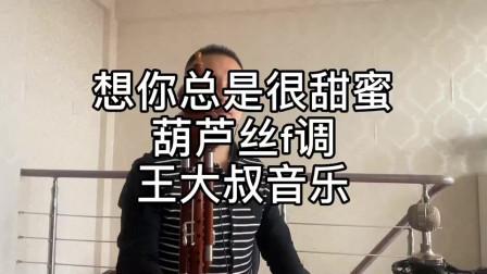 《想你总是很甜蜜》葫芦丝F调演奏 经典歌曲