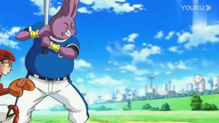 龙珠:悟空最慢的投球,这也太慢了吧,象帕都等不了了