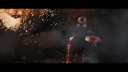 钢铁侠与战争机器合体大战鞭索,这特效这创意真是种享受