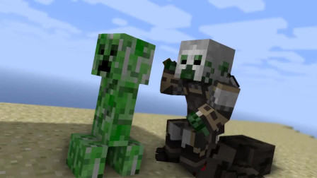 我的世界游戏怪物学院:大家一起玩空岛大战,谁可以胜利呢