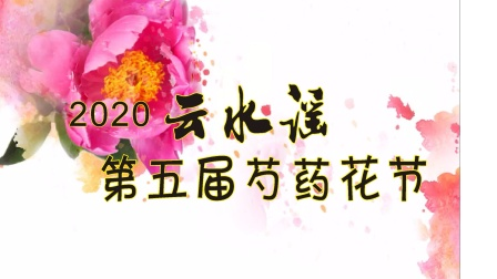 2020云水谣第五届芍药花节