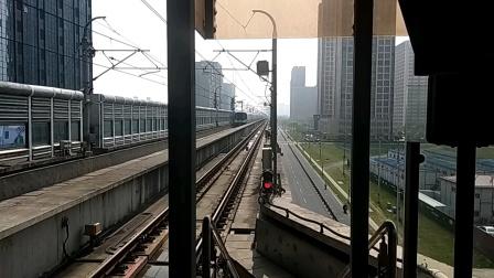 上海地铁11号线  1108号车花桥方向  光明路进站