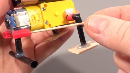 简单有趣,用冰棒棍与吸管便能做出,一个超萌小玩具