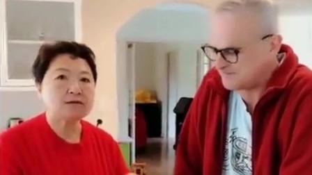 老外在中国:洋女婿三天没吃饭了,中国丈母娘吃大包子馋死人,看老外表情