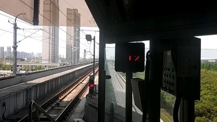 上海地铁11号线  1178号车往花桥方向  光明路出站