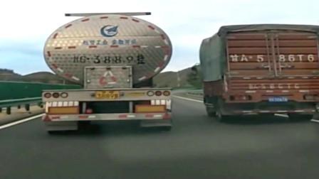行车记录仪,油罐车是不是被人偷偷开出的,这驾驶技术对不上啊!