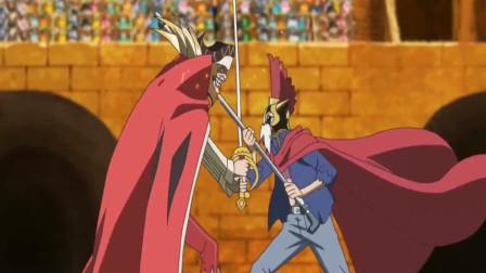 海贼王:明哥干部和萨博短暂交手高下立判,萨博是玩体术的