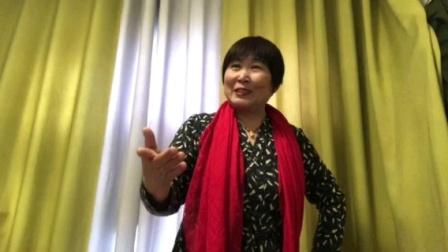 资深戏迷郑艳芬演唱:河北梆子-龙江颂.一轮红日照胸间……。录像:郑艳芬