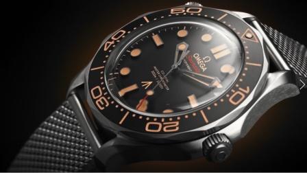 全新海马系列300米潜水表007版