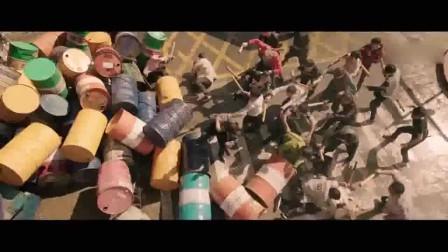 缝纫机乐队成员的战斗力真可以,几个人竟能从几十人的包围中逃跑
