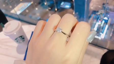 求婚的时候用这款钻戒肯定十拿九稳哦