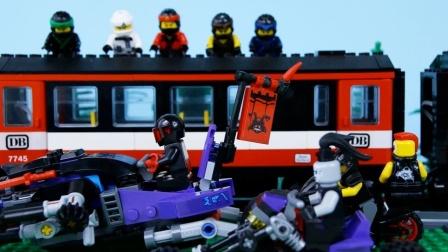 乐高忍者#停止运动#忍者火车抢劫案#乐高忍者之子加玛顿#由比利·布里克