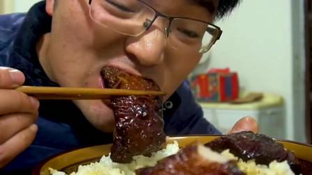 三斤肥肉烀三小时,大叔最爱这个味,半肥半瘦媳妇能吃上瘾