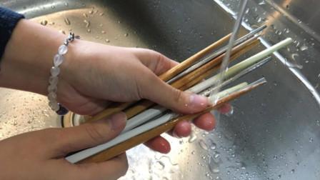 每天用清水洗筷子,比不洗还要脏!教你正确清洗方法,干净又杀菌