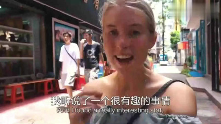 老外在中国:外国美女游深圳大芬油画村,花了500块钱给自己画了一幅油画