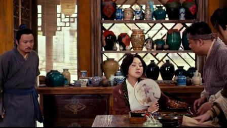 武林外传:佟湘玉充分展示抠的本性,花生米都要把盐粒挑出