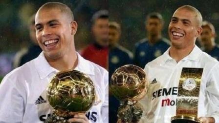 1996年20岁的大罗获世界足球先生