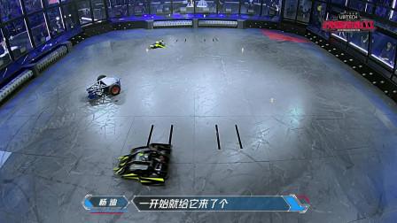 铁甲雄心2:唯一KO对手的女选手,替学生战沙场,强!