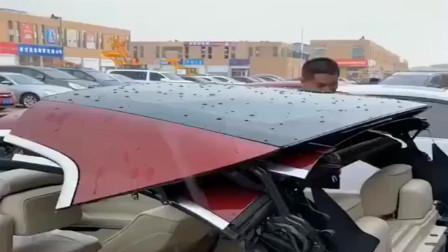 下雨时不管多好的敞篷车我也不想坐,毕竟谁喜欢淋雨呢!