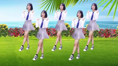 广场舞《酒醉的蝴蝶》舞美32步简单又时尚附背面教学