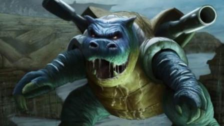 对方水箭龟有点凶,幸好我有喷火龙!