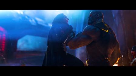 灭霸为啥会被雷神一斧子砍得重伤?只因他杀了这两个不该杀的人