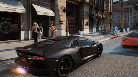 GTA5超真实世界MOD震撼画面堪比未发售的GTA6