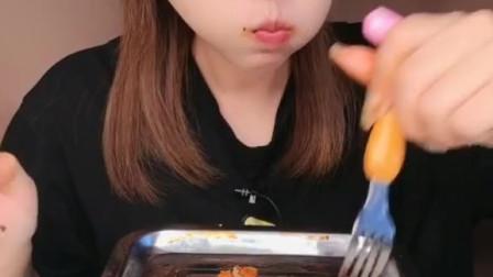 今天吃完这一盘。