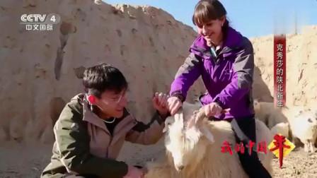 老外在中国:乌克兰女孩在陕北黄土高原过新年,忽溜饭是她吃过最美味的年夜饭