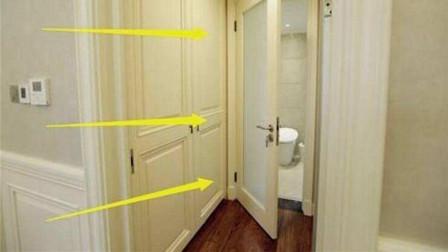 卫生间不用时,门是开着好还是关着好?看完恍然大悟,提示家里人