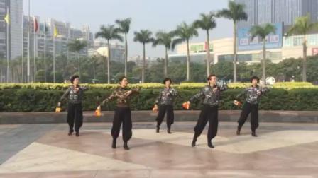 丰润社区健身球表演