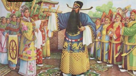 早期四大净角泰斗王在岭,1956版《下陈州》行路一折,正统豫剧!