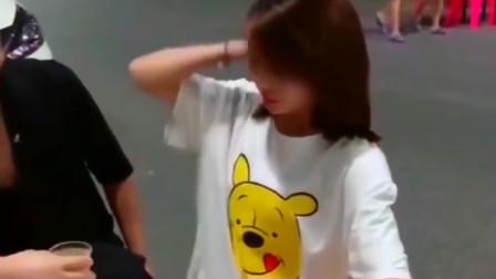 画面太惊艳了,广东小姐姐这是喝了多少啊,直接举白旗认怂了!