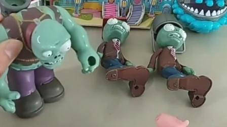 猪爸爸只偏心乔治,僵尸帮助佩奇变魔法,爸爸妈妈也很偏心佩奇了!