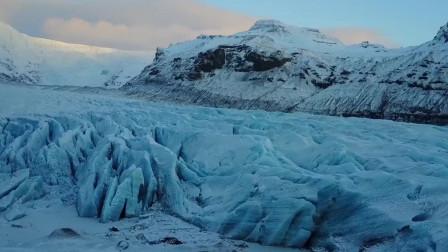 《星际穿越》曼恩星取景地,恍如科幻世界,有世界上最危险的冰洞
