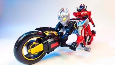 【玩家角度】什么鬼!变形机构基本照搬假面骑士的奥特曼玩具!灵动奥特机车
