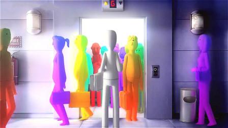 这个世界每人都用颜色代表自己,失去色彩的人,将会遭到众人抛弃!