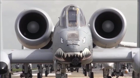 耀武扬威的A-10攻击机大队
