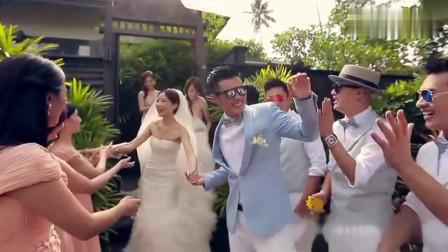 回顾贾乃亮和李小璐,陈赫和许婧,刘恺威和杨幂的婚礼现场
