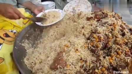 这样的印度手抓饭,便宜到不敢想象,你感觉可以吃几碗!