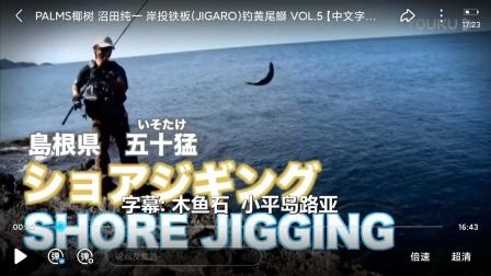 PALMS椰树 沼田纯一 岸投铁板(JIGARO)钓黄尾鰤 VOL.5【中文字幕】