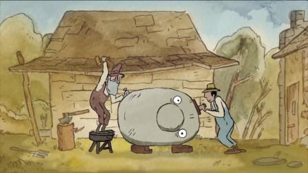 一块只想睡觉的石头,经过人类多次的玩弄,居然见证了生命的变迁