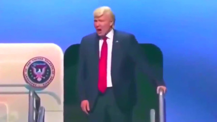 美国牛人模仿特朗普,一出场引起全场爆笑,太像了!
