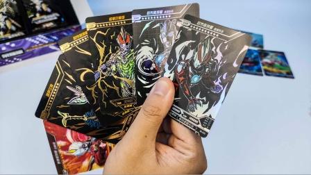 【玩家角度】抽卡记02~重操旧业!一次开90元奥特曼荣耀卡片!